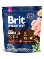 Psi - krmivo - Brit Premium Dog by Nature Adult S